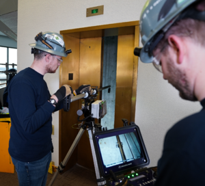 Zenith Performs Fully Automated Inspection of Elevator Shaft
